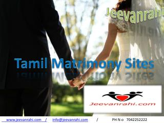 No1 #Tamil matrimony sites 100% free in india
