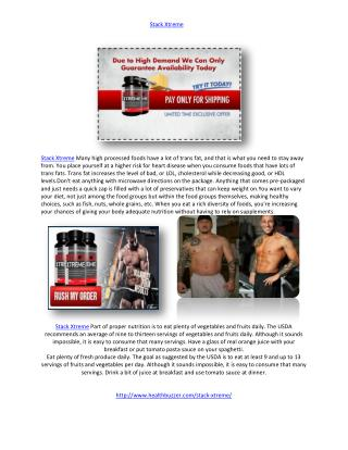 http://www.healthbuzzer.com/stack-xtreme/