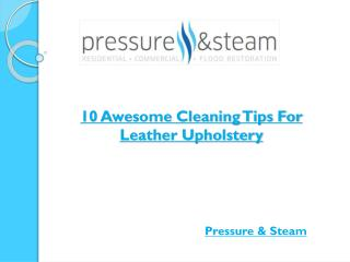 10 Awesome Cleaning Tips For Leather Upholstery