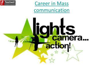 Mass Communication Coaching in Delhi