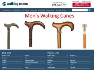 Become a More Charismatic Man with Stylish Walking Stick