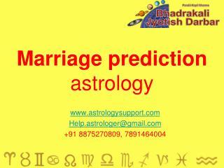 Marriage prediction 2017