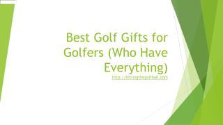best golf gifts