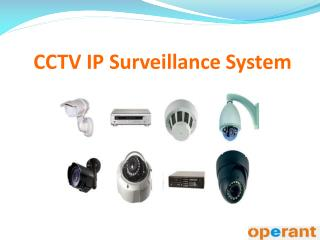 CCTV IP Surveillance System