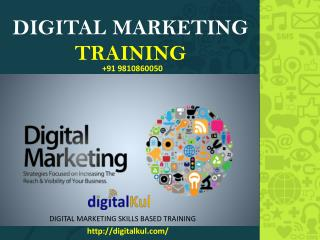 DigitalKul creates customized trainings in digital marketing for your sales or   business development teams.