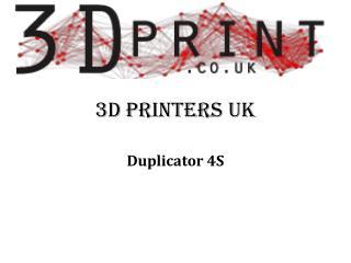 3d printers uk