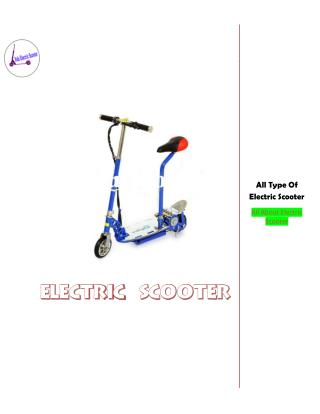 Electric scooter Information