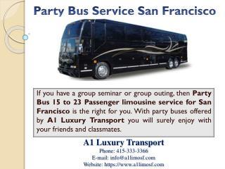 Party Bus Service San Francisco