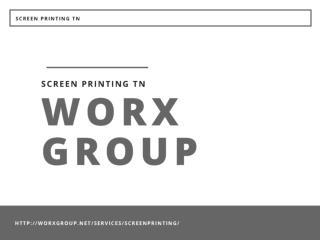 Screen Printing TN