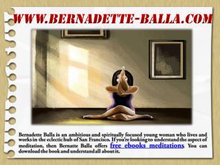 Free Ebooks Meditations