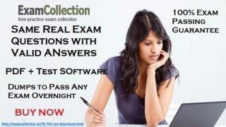 70-761 Exam Questions
