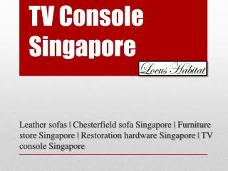 TV Console Singapore - www.locushabitat.com