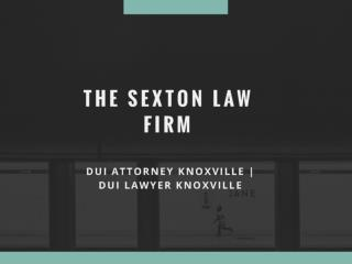 Knoxville Dui Attorney