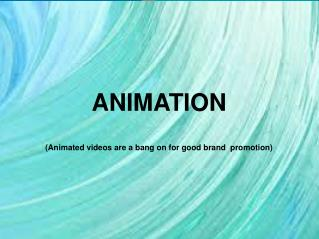 DEVELOP YOUR EXPERTISE IN THE FIELD OF ANIMATION