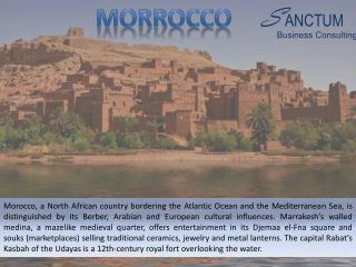 Looking for Morocco Visitor visa - Contact Sanctum Consulting