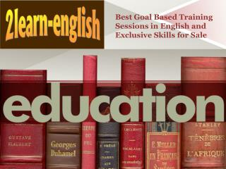 Best Goal Based Training Sessions in English and Exclusive Skills for Sale