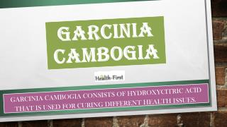 Garcinia Cambogia Health Pills for Weight Loss