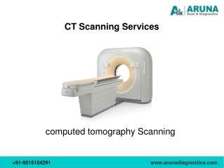 CT Scan Imaging Services at Aruna Diagnostics