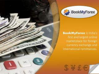 Online Currency Exchange Service | BookMyForex