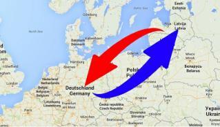 Transport-Spedition Deutschland nach Lettland