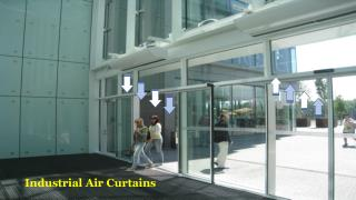 Industrial Air Curtains in Dubai