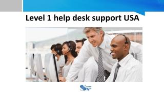Level 1 Help Desk Support USA - Suma Soft