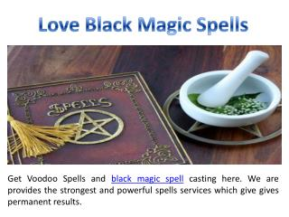 Love Black Magic Specialist