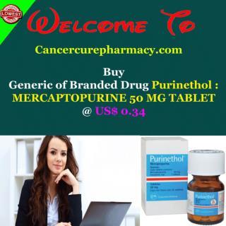 Buy Purinethol - Mercaptopurine 50 Mg Tablet @ Us$ 0.34