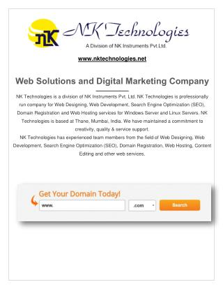 Web Development And Web Designing In thane, Mumbai, India