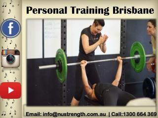 Join Personal Training Brisbane