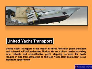Boat Shipping Estimate