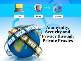 Anonymity, Security and Privacy through Private Proxies