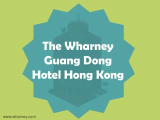 Hong Kong Hotel Long Stay Package and Affordable Accommodation