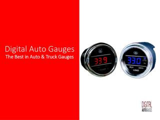 Load Weight Gauge for Trucks | load trailer | teltek gauges | digital truck gauges