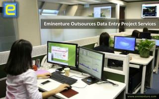 Eminenture Outsources Data Entry Project Services