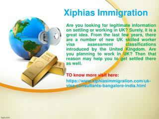 UK skilled worker visa assessment