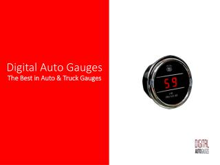 Oil Pressure Sensor Gauge for Trucks and Cars | oil pressure gauge | oil pressure sensor