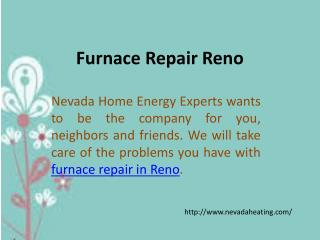 Furnace Repair Reno