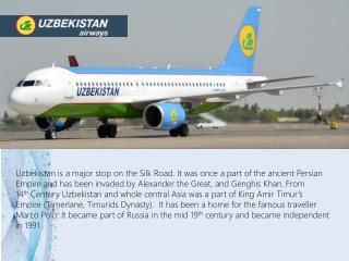 Fly with FlyUzbek, book your air tickets to Uzbekistan from Fly Uzbek airways.