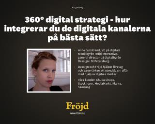 Digitala trender & strategi 2013