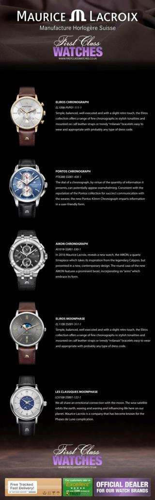 A Selection of Maurice Lacroix Watches