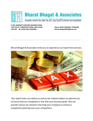 Online Tax Services in Mumbai