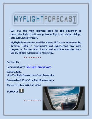 Check Turbulence Reports, Map, Plan Tracker & Flight Forecast