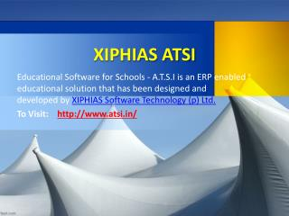 ERP software for school and college