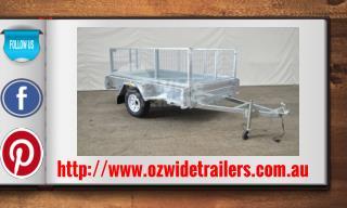 Single Axle Car Trailer For Sale