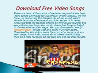 Download Free latest Punjabi & Bollywood Videos Songs