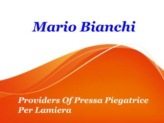 Providers Of Pressa Piegatrice Per Lamiera