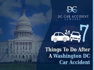 9 Things To Do After A Washington DC Car Accident