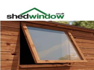 Shed window UK