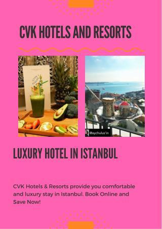 Luxury Stay In Istanbul - Taksim 5 Star Hotel